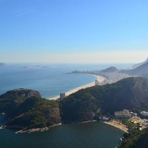 Rio de Janeiro viewed from Sugar Loaf Mountain