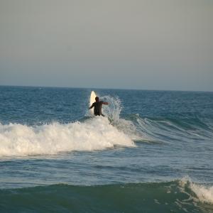Surfer in Florianopolis, Brazil