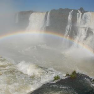 Iguazu falls, Brazilian side.